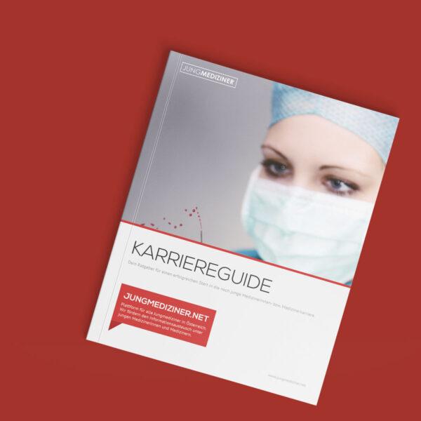 Das Cover des Karriereguides für Jungmediziner:innen