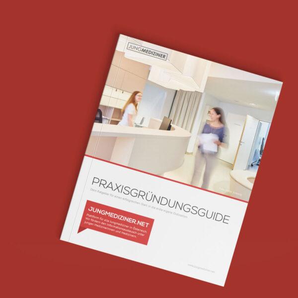 Das Cover des Praxisgründungsguides für Ärzt:innen