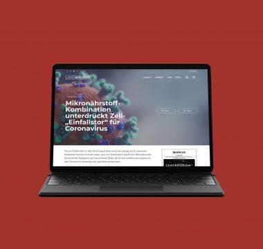 Jungmediziner.net auf dem Tablet