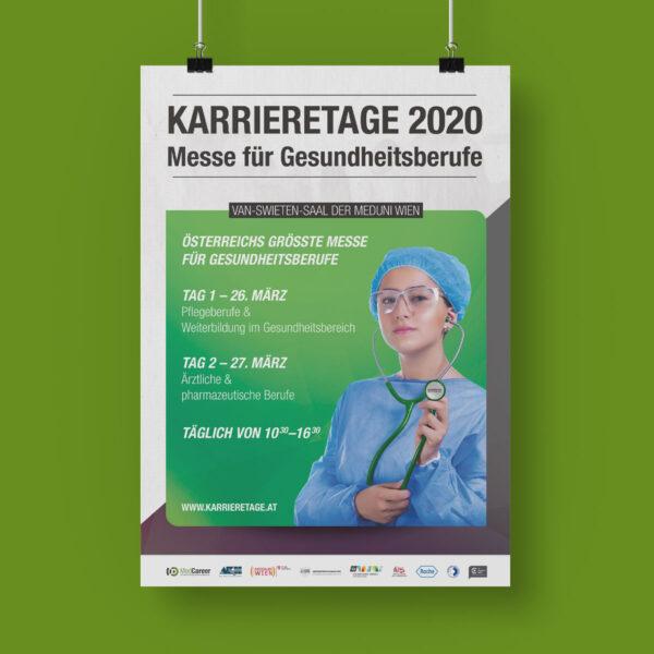 Plakat der Karrieretage