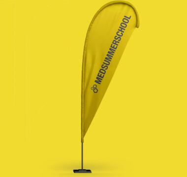 Flagge der MedSummerSchool