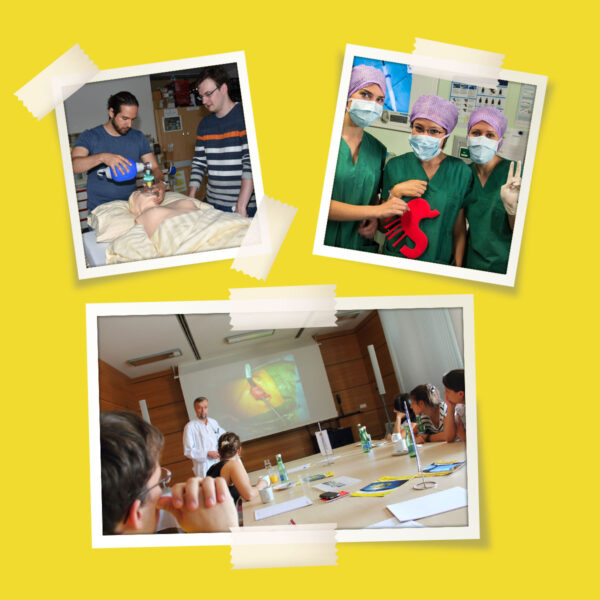 Fotos von der MedSummerSchool