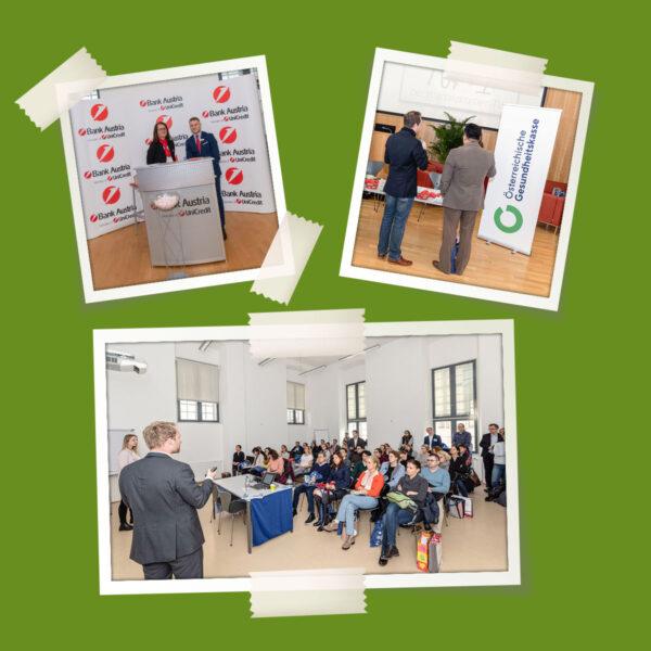 Bilder von den Praxisgründungstagen in Wien
