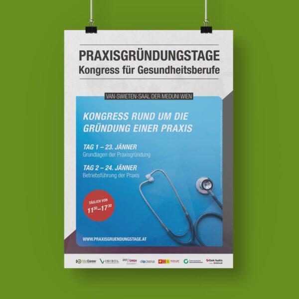Plakat der Praxisgründungstage