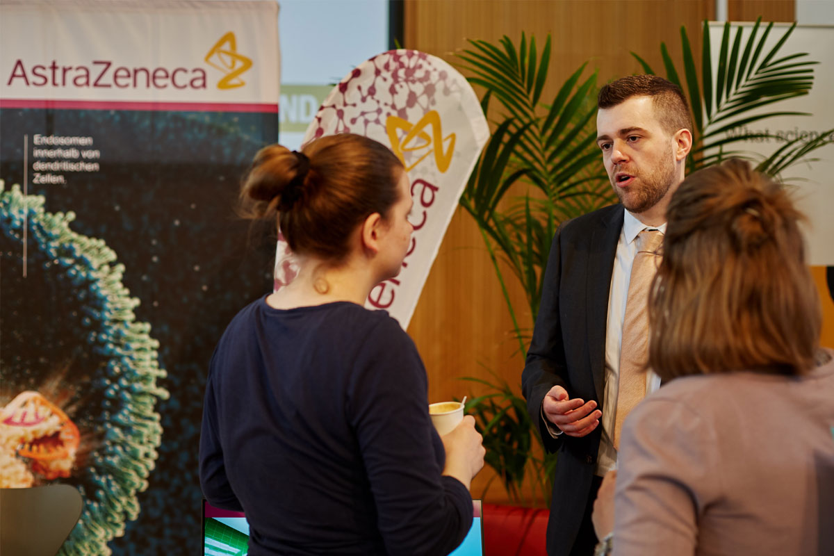 AstraZeneca bei den Karrieretagen in Wien
