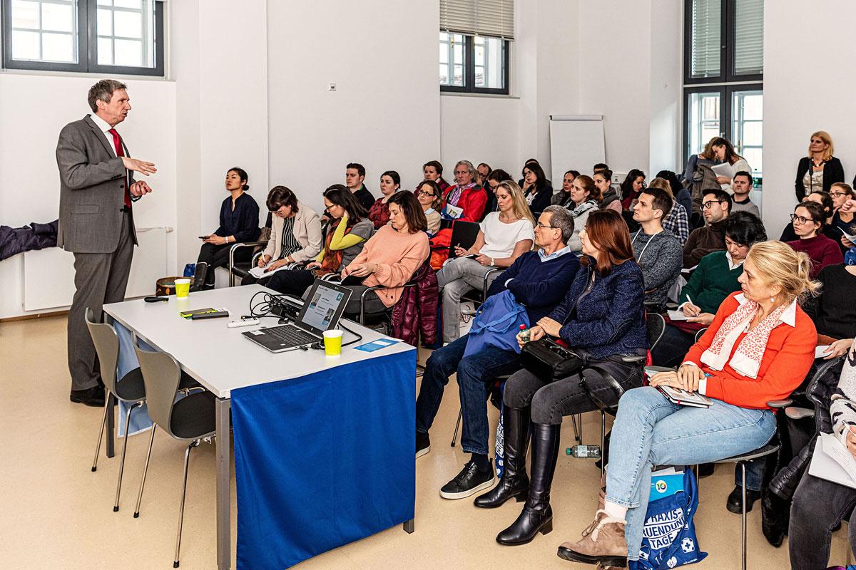 Vortrag der Bank Austria UniCredit Group bei den Praxisgründungstagen