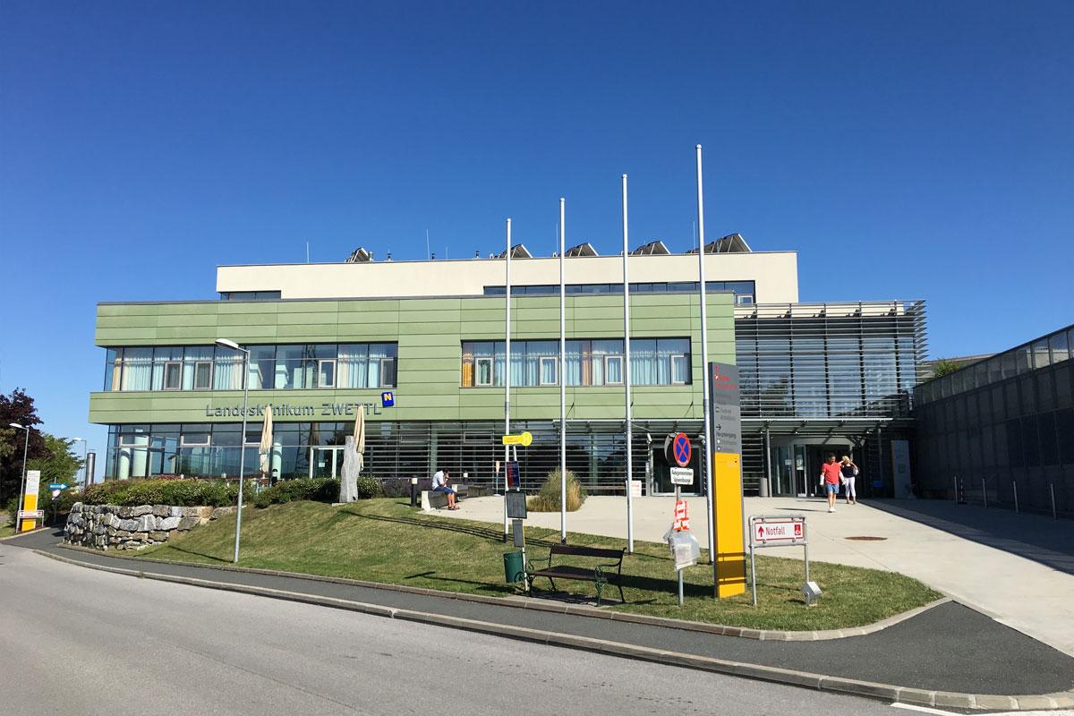 Das Landesklinikum Zwettl der NÖ Landesgesundheitsagentur bei der MedSummerSchool