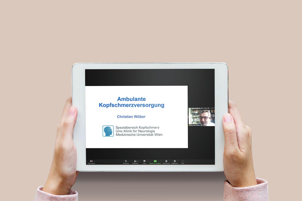 Ärztefortbildung als Webinar im Auftrag von Ratiopharm